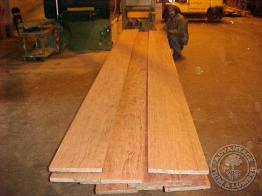 bubinga lumber boards
