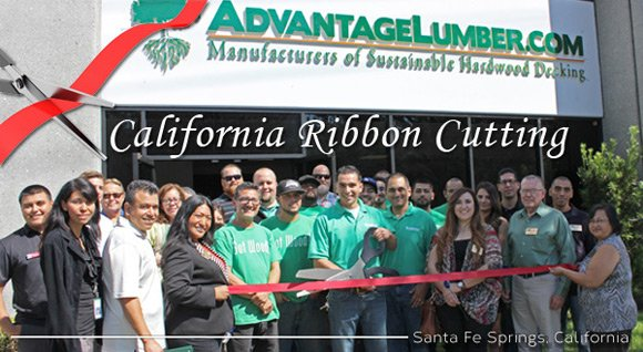 california banner cutting