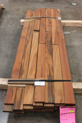 1x6 B-Grade Tigerwood