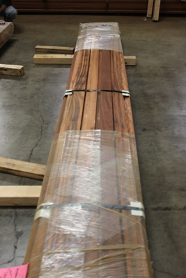 21mmx4 B-Grade Tigerwood