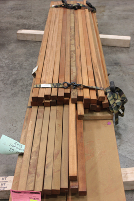 2x2 B-Grade Tigerwood