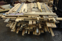 Mixed White and Red Oak Lumber