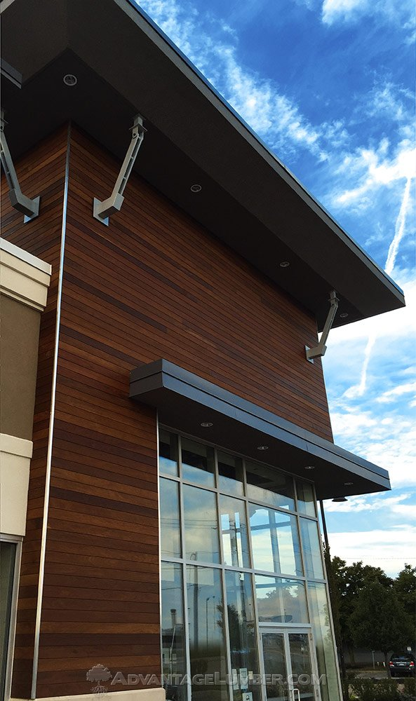 ipe commercial siding