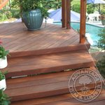 Cumaru wood decking