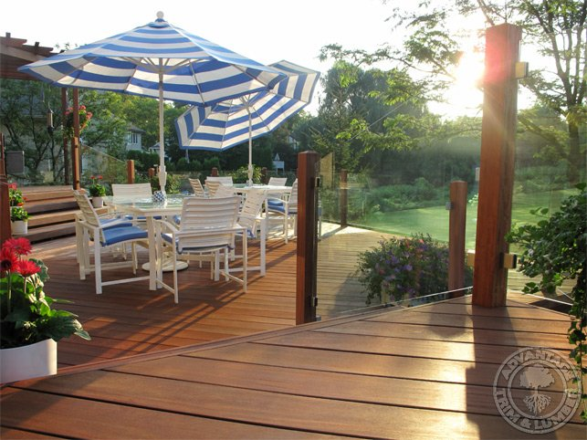 cumaru decking pictures