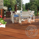 low maintenance hardwood decking