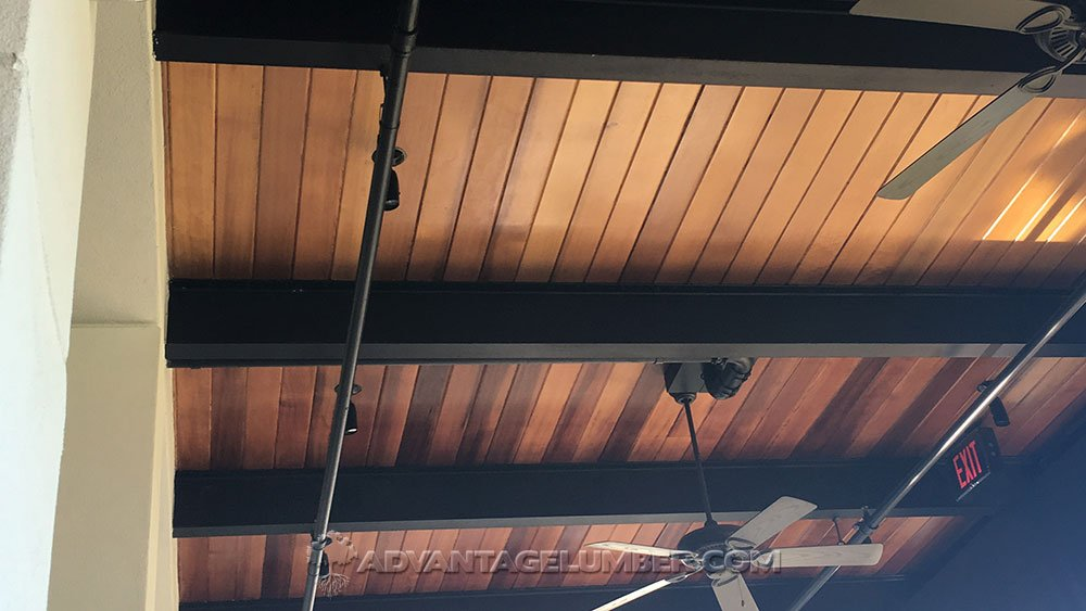 Cypress wood cypress decking cypress ceiling planks for T g roof decking