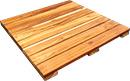 24x24 teak deck tile