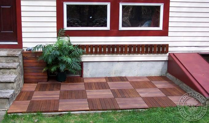 wood deck tiles ikea over concrete patio wooden decking interlocking