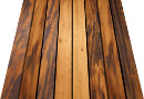 24x24 tigerwood deck tile