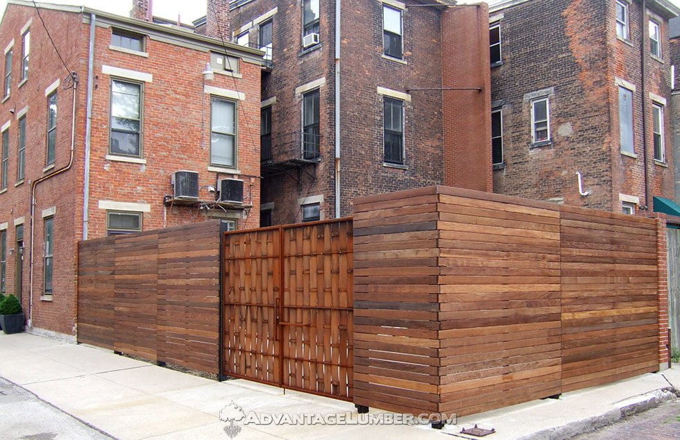 Ipe Fence