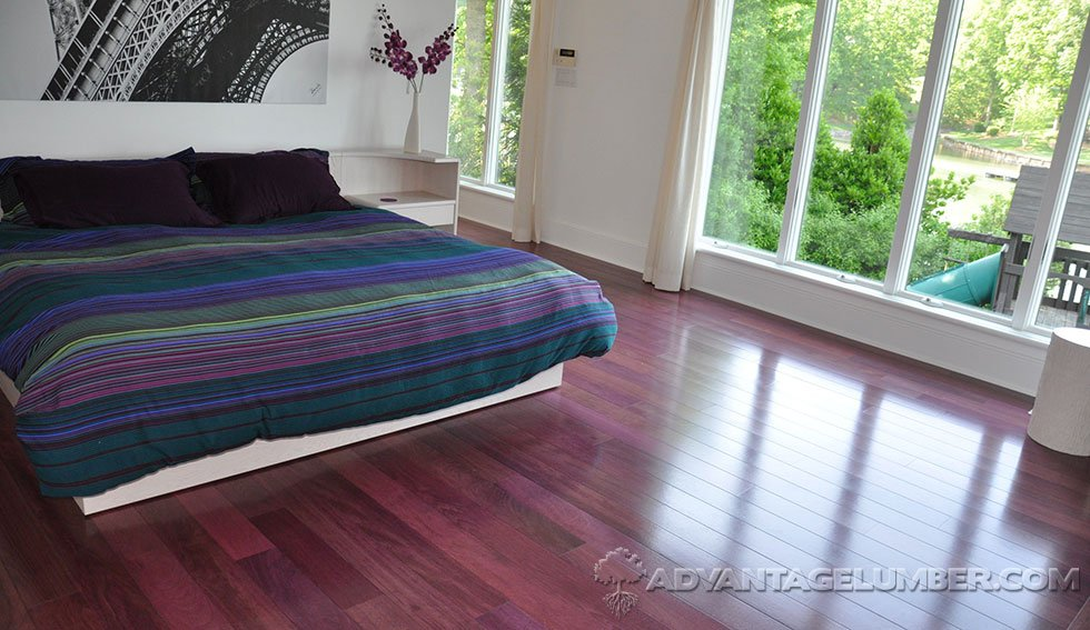 Purpleheart flooring for Purple heart flooring