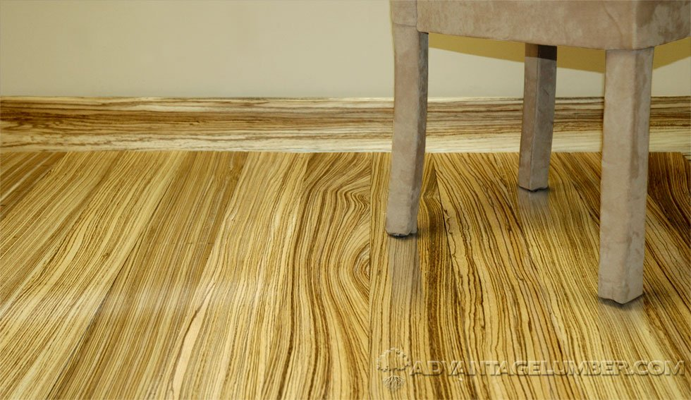 Zebrawood Flooring Creates Beautiful Rooms with a Warm Touch - Zebrawood Flooring