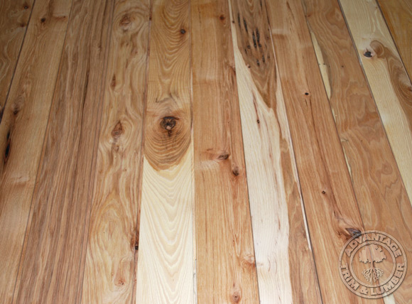 4 Prefinished Rustic Hickory Flooring
