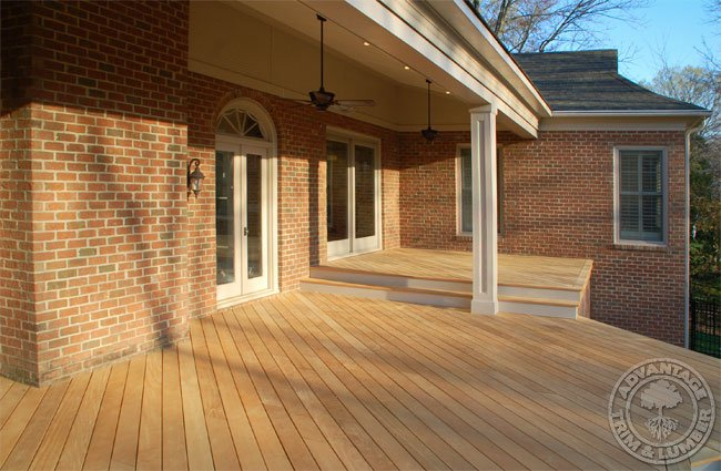 Garapa decking gallery for Ipe decking vs trex