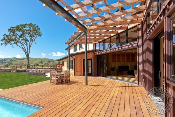 garapa decking pictures
