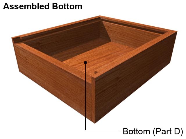 bottom jewelry box Material of for