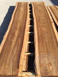indian rosewood flitch sawn book matched log