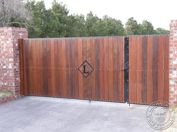 Ipe Wood Fence Midland Texas