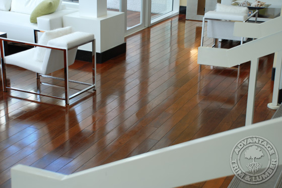 5 Quot Prefinished Ipe Flooring Brazilian Walnut Floor