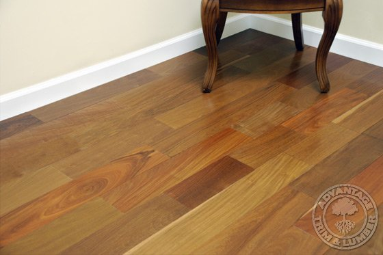 5 unfinished ipe flooring brazilian walnut floor for Unfinished brazilian walnut flooring
