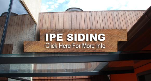 Ipe Siding
