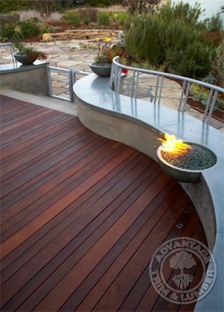 Wood decking ipe wood decking san francisco for Ipe decking vs trex