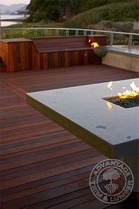 ipe deck california