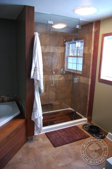 High Quality ... Ipe Shower ...