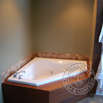Ipe Bathtub