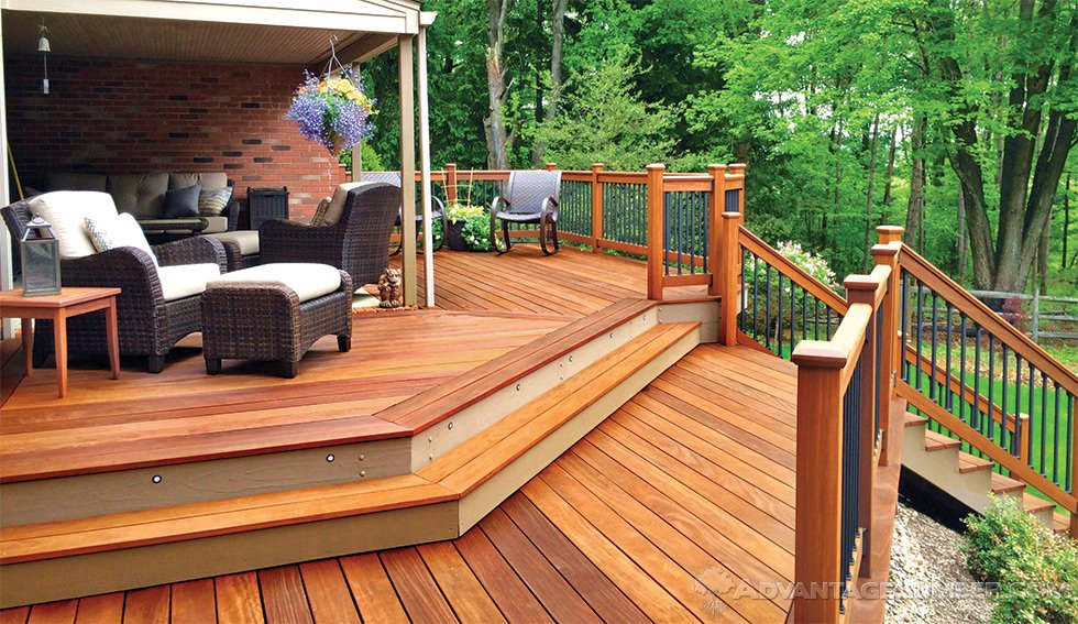 Buy Cumaru Decking From The Advantage Trim Amp Lumber Store
