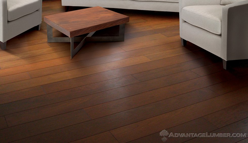 5 prefinished ipe flooring brazilian walnut floor for Unfinished brazilian walnut flooring
