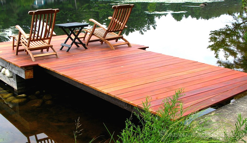 tigerwood dock