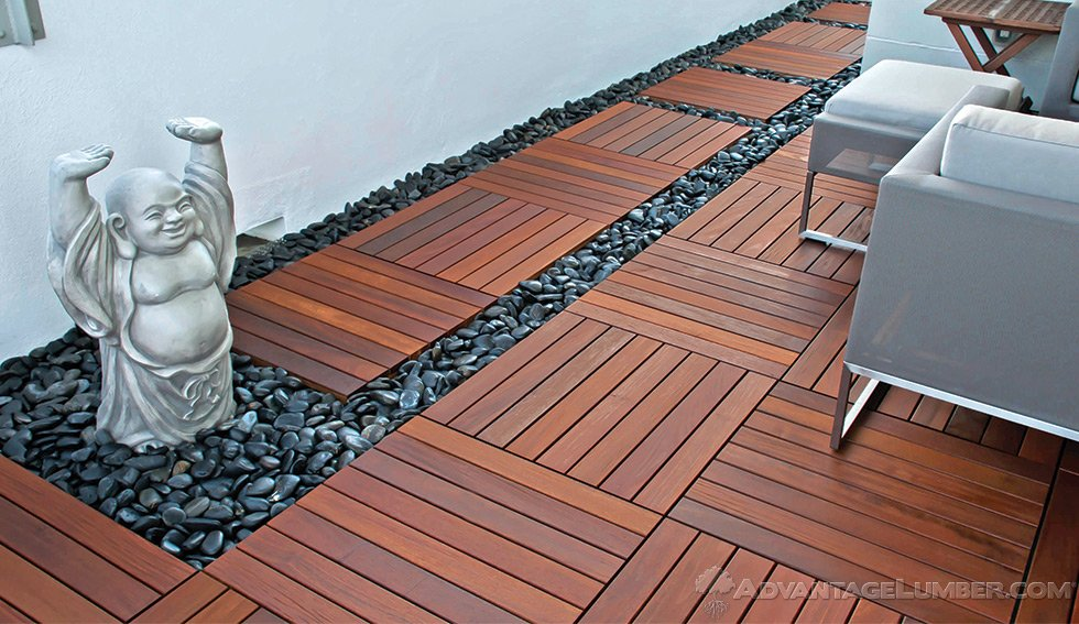Cheap deck tiles tile design ideas for Garden decking squares