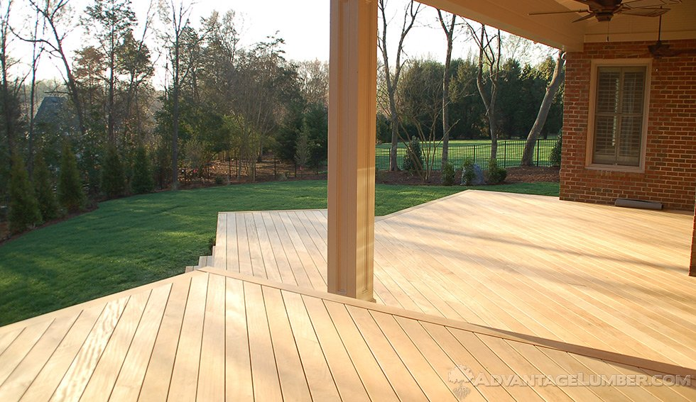 Garapa Deck Installation