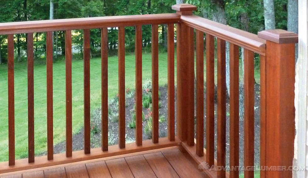 small deck hand railings