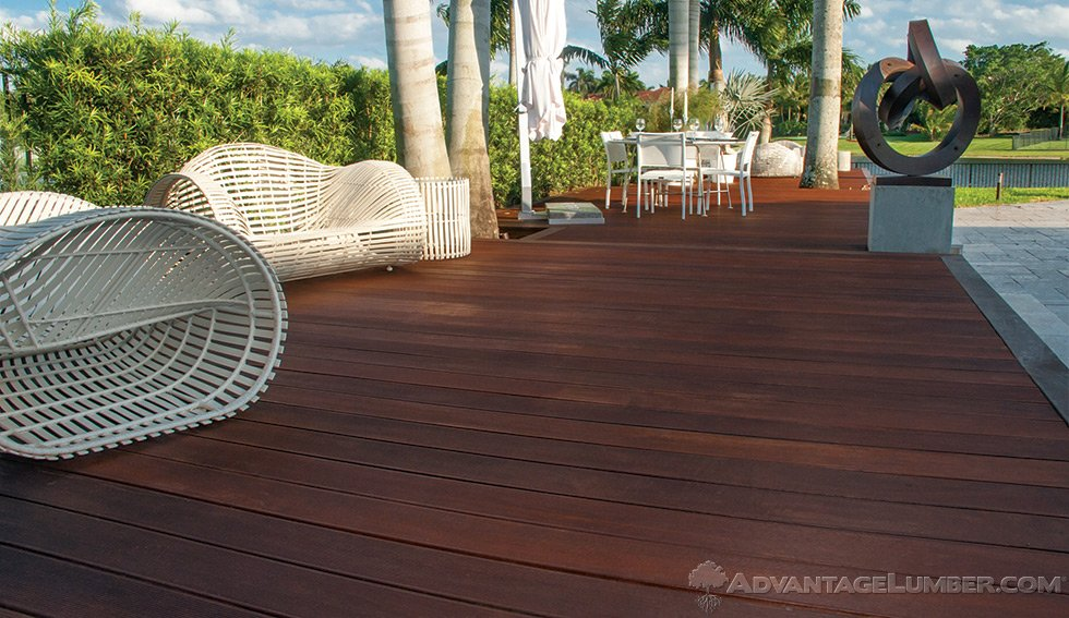 massaranduba decking
