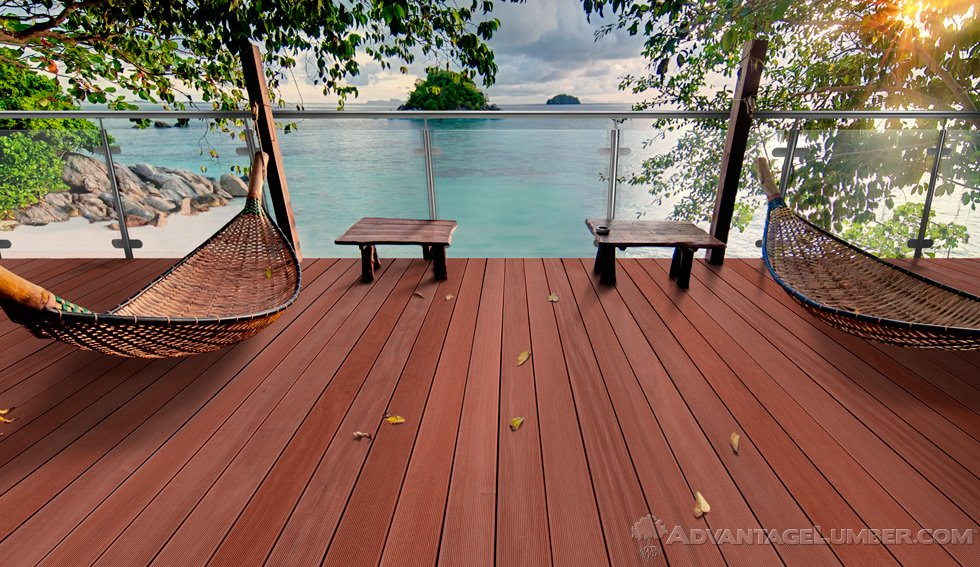 Massaranduba Decking Installation