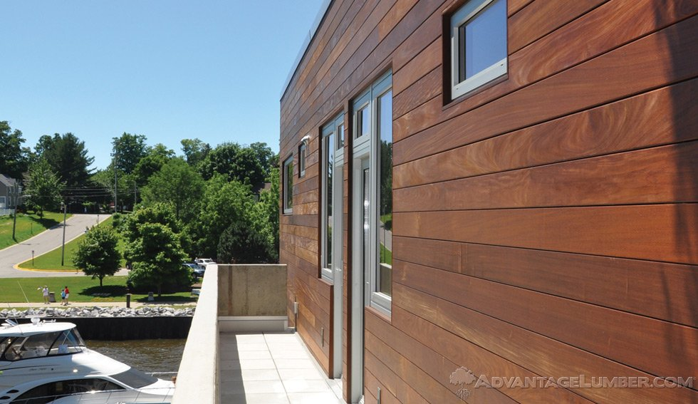 Wood siding wood siding rainscreen Materials for exterior walls