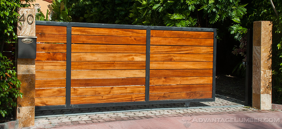 tigerwood gate