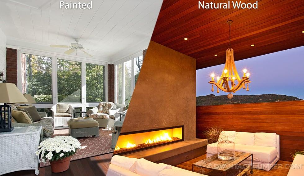 Advantage Wood Ceiling Planks
