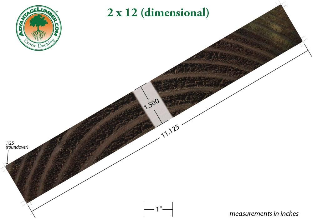 1 2 X 11 Poplar Lumber 2x12