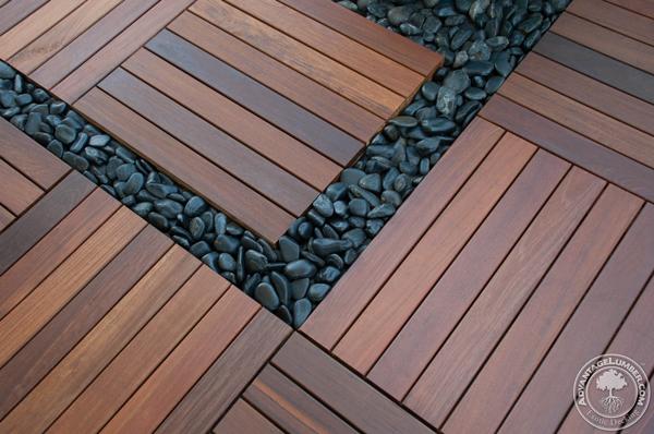 Ipe Deck Tiles On Rooftop Balcony St Petersburg FL