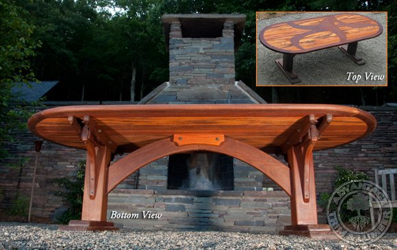 ipe and tigerwood table
