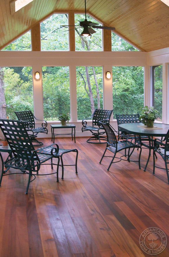 tigerwood porch decking