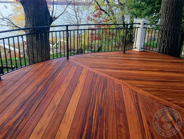 tigerwood decking pictures