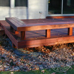 Beautiful Tigerwood Deck and Stairs