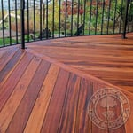 Tigerwood Deck