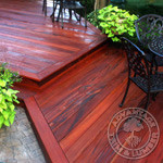 Tigerwood Yard Deck