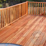 Second Story Tigewood Deck